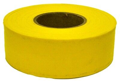 1 ROLL  IRWIN 17024 300 ft YELLOW VINYL FLAGGING TAPE MARKING RIBBON NEW