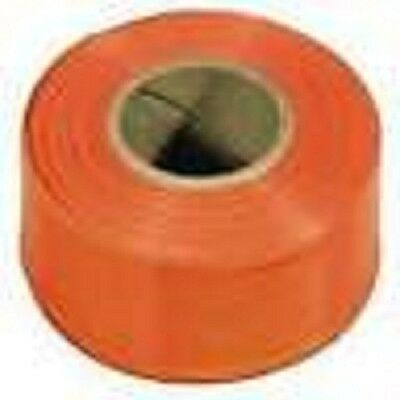 12  ROLLS  IRWIN 65902 300 ft  ORANGE  VINYL FLAGGING TAPE MARKING RIBBON NEW