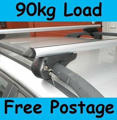 Aero  Aluminium Lockable Roof Rack Rail Bars for Ford Kuga 2008-  L