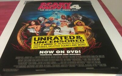 SCARY MOVIE 4 DVD MOVIE POSTER 1 Sided ORIGINAL 27x40