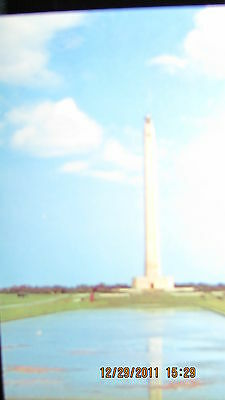 Houston, Texas.. San Jacinto Memorial Monument 1965 Postcard