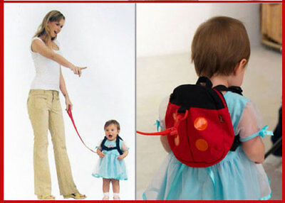 Child Baby Safety Harness Reins Backpack Strap keep active toddlers at hand