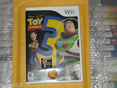Toy Story 3: The Video Game (Wii, 2010) New