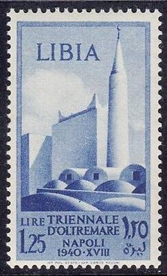 Libia 1940 - Triennale D'oltremare  - L. 1,25 - Mnh