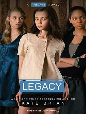 Legacy by Kate Brian (English) Compact Disc Book