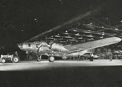 WWII 1943 Ad ~ BOEING ~ Another Flying Fortress Ready to Fly