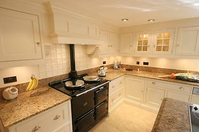 2 Oven Gas Fired Aga Cooker, Black. Price includes, delivery & installation.