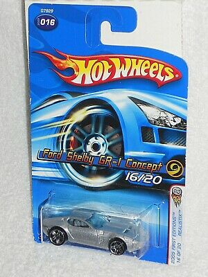 HW 2005 First Editions Realistix 16 / 20 Ford Shelby GR-1 Concept  Mtflk Silver