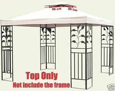 3m x 3m Fabric Top Only for Outdoor Gazebo Marquee Sunshade