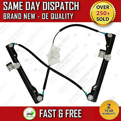 Vw New Beetle Hatchback 1998>2010 Front Left Passenger Window Regulator 2/3 Door