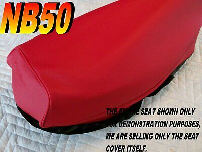 NB50  1985-86 AERO 50 Replacement seat cover for Honda NB50M Red 022C