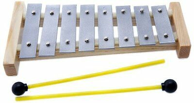 D'Luca 8 Notes Children Xylophone Glockenspiels with Music Cards, TL8-3