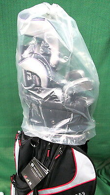 "Rain Hood for golf bags  ""NEW""  Transparent hood with pull tie closure system"