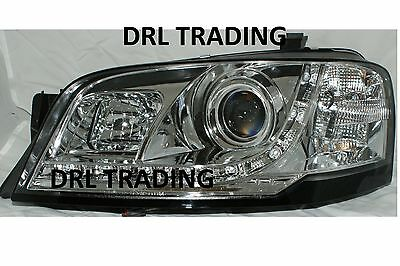Ford Territory GHIA MODEL 4WD AWD DRL Style New LED Chrome Projector Headlights