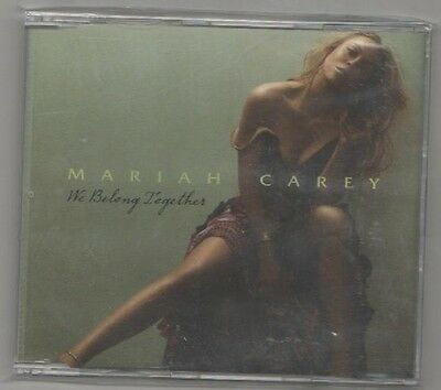 mariah carey - we belong together promo   cd  single