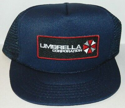 Resident Evil Umbrella Corporation Chest Logo Patch Baseball Hat Cap, NEW UNWORN