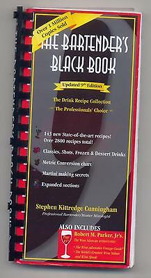 The Bartenders' Black Book by Stephen Kittredge Cunningham (2008, 9th edition