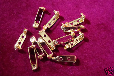 "Bar Pins for Name Plates Badges 3/16""x3/4"" (Pk 144) 853"