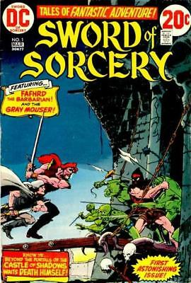 SWORD OF SORCERY #1 Very Fine, Fafhrd Gray Mouser, Chaykin, DC Comics 1973