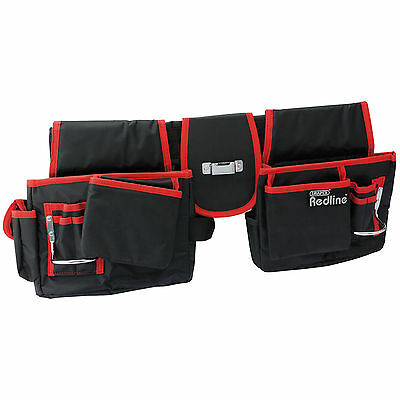 DRAPER 16 POCKET DOUBLE TOOL POUCH  incl FREE DELIVERY (DRA67832)