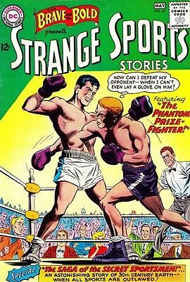 "BRAVE AND THE BOLD #47 Very Good ""Strange Sports Stories"" Boxing, DC Comics 1963"