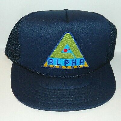 Lost In Space TV Series Alpha Control Logo Patch Baseball Hat, NEW UNUSED