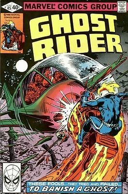 """GHOST RIDER #45 Very Fine, """"To Banish a Ghost!"""", Marvel Comics 1980"""