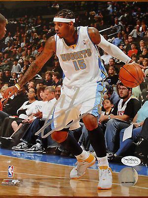 *CARMELO ANTHONY* Large signed wall poster of Knicks basketball star,great gift!
