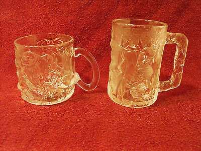 Two (2) McDonald's Mugs The Riddler Forever (France) and Batman Forever (U.S.A.)