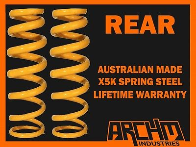 REAR 30mm RAISED COIL SPRINGS TO SUIT NISSAN PATHFINDER R51 2.5L/3.0LTURBODIESEL