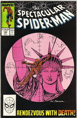 The Spectacular Spider-Man Comic Book #140, Marvel 1988 NEAR MINT