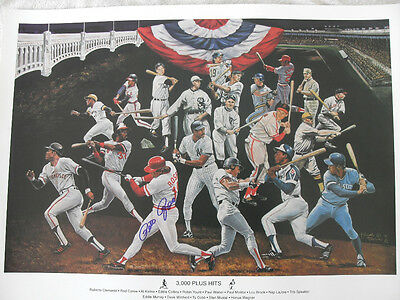 PETE ROSE SIGNED 65 x 50 cm High Quality Print Private signing COA Photo proof