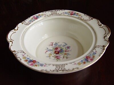 KPM Royal Ivory Queens Rose Round Vegetable Bowl (No LID) (1)