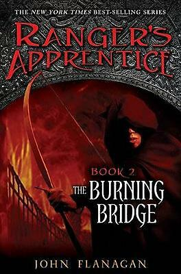The Burning Bridge by John Flanagan (English) Hardcover Book Free Shipping!