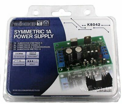 Symmetric 1A Power Supply Kit - Requires Assembly