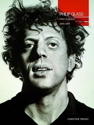 Philip Glass First Classics 1968-1969 Movie Film Soundtracks Music Book