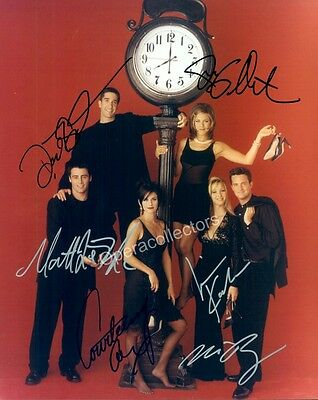 Friends TV Series - Photo signed by all 6!