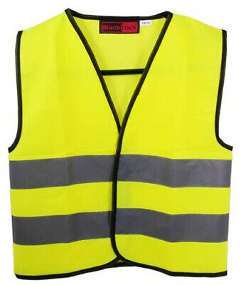 Blackrock Kids Yellow Hi Vis Vest Childrens High Visibility Viz Waistcoat 80300