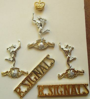 Royal Corps of Signals 5 Teile Badges