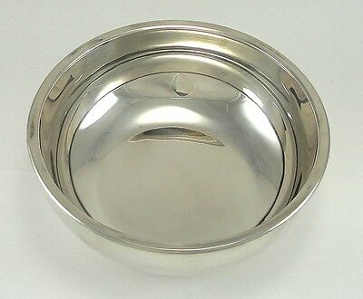 "Cartier Sterling Silver Bowl Number 395 Modernist 5"" Width X 1-3/4"" Height"