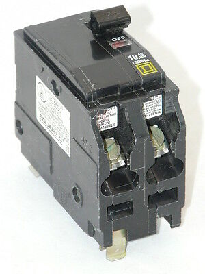 New Square D QO225 2 Pole 25 Amp 120V Plug In Circuit Breaker