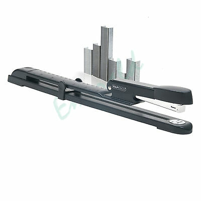 Rapesco Long Arm Full Reach Stapler & 2 Packs of 1000 26/6 Staples Fast Dispatch