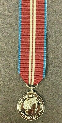 """Full Size Queen's Diamond Jubilee Medal With 10"""" Of Ribbon, Brand New"""