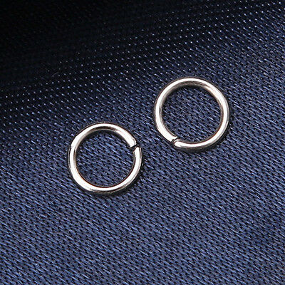 1000pcs Lots Wholesale Open Jump Rings Connector Jewellery Findings 6mm BS