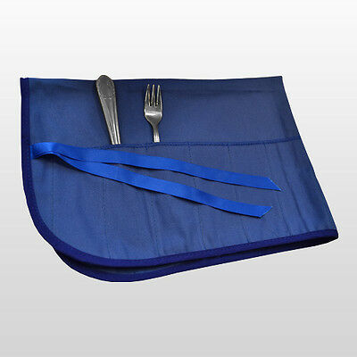 Luxury Cutlery Roll For Silver Plate & Silver Cutlery With An Anti-Tarnish Agent