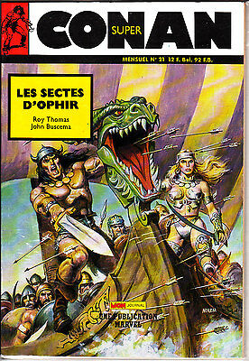 Conan  Super  N° 21      Publication  Marvel  Mon Journal