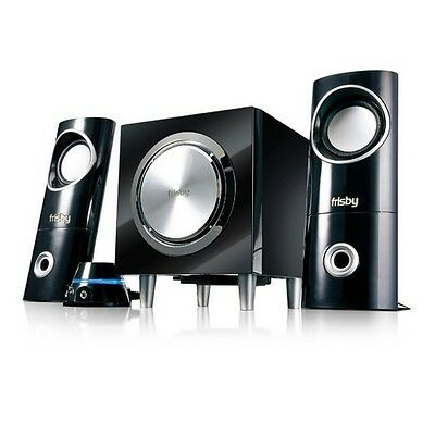 Frisby NEW PC Computer Desktop Laptop Notebook Speakers System with Subwoofer