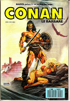 Conan  Le  Barbare  :n°  5      Editions   Semic France