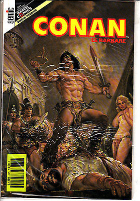 Conan  Le  Barbare  :n°32     Editions   Semic France