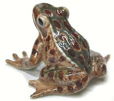 R130B - Northern Rose  - Minature- Green & Brown  Frog - RETIRED!